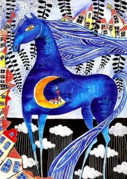 Синият кон