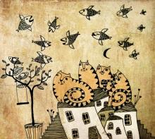 Лятната миграция на летящия паламуд
