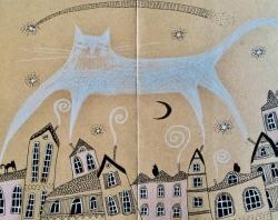 A cat in the sky!
