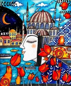 Истанбул е в мислите ми...