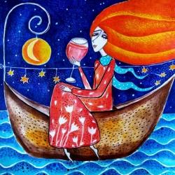 Понякога мечтите пристигат на лодка