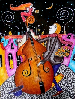 The Muse and the double bass