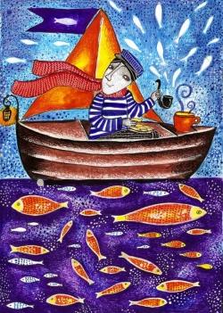 Морякът с бишкотите