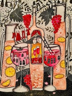 Приказка от вино